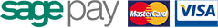 Pay securely with Sagepay